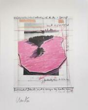 Christo and Jeanne-Claude - Surrounded Islands, 1983, Lithograph, Hand Signed