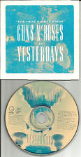 GUNS N ROSES Yesterdays w/ RARE LIVE In LAS VEGAS trk PROMO Radio DJ CD single