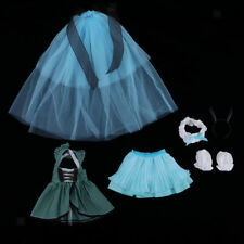 Evening Party Dress Skirt Strapless Top Headwear For 1/4 BJD SD Doll Clothes