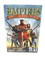 Empires Dawn of the Modern World PC Computer Game FREE FAST Shipping
