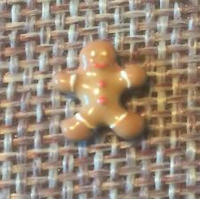 Origami Owl Gingerbread Man/boy Charm 1st Series Retired, Rare, & HTF
