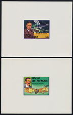 Central Africa 297-301 Deluxe Sheets MNH Aircraft, Concorde, Spirit of St Louis