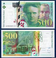 """500 Francs Pierre et Marie Curie Type 1993 """"Modifié"""" - 1994 A009305115"""