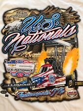 NHRA DRAG RACING 2019 US NATIONALS  T- SHIRT  SIZE 3X