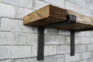 2 x Scaffold Board Shelf Brackets - coffee shop, restaurant  Heavy Duty 225mm