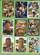 WESTERN REDS  - LOT OF 27 RUGBY LEAGUE CARDS