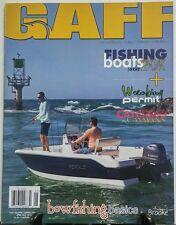Gaff April May 2016 Fishing Boats Under 20K Wrecking Permit FREE SHIPPING sb