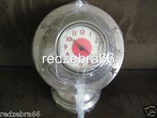 Pottery Barn Kids Globe Clock New In Box Red Holiday Gift