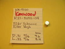 KENWOOD K27-0052-04 FILTER PUSH SWITCH CAP KA-9100 INTEGRATED AMPLIFIER