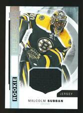 MALCOLM SUBBAN PREMIER ROOKIE JERSEY CARD RC