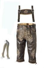 Speckige Herren-Trachtenhosen aus Glattleder