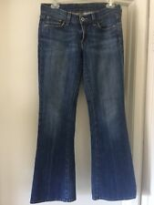 Womens Lucky Brand Jeans Dungarees  100% Cotton. Flare.Size M C1