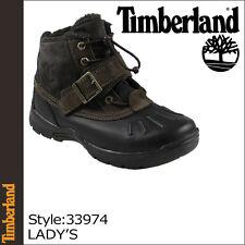 Timberland JUNIOR'S MALLARD boots  33974 black brown size 4 US 35 EUR
