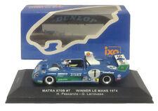 IXO lm1974 MATRA 670b #7 Winner Le Mans 1974-Pescarolo/Larrousse 1/43 SCALA