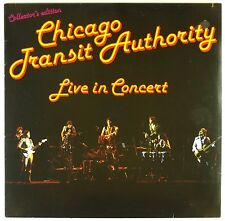 """12"""" LP-Chicago transit Authority-Live in Concert-a3846-washed & cleaned"""