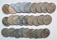 MEXICO lot 50 PESOS fifty vintage world M foreign Mexican 27 COINS