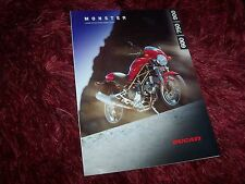 Prospectus / Brochure DUCATI Monster 600 / 750 / 900 //