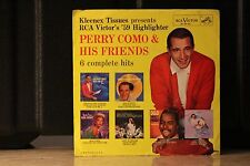 PERRY COMO & HIS FRIENDS 6 COMP HITS..PIC SLEEVE 45 RPM EP RECORD..TD 17-2