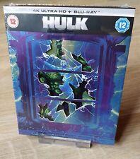 Hulk 4K/2D Blu-ray Steelbook Slipcase Zavvi UK Exclusive New Sealed