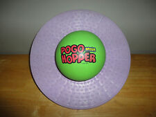 Vintage 1980s POGO MOON HOPPER BALL BAL Purple & Green Bouncing Toy