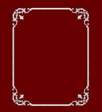 Decken/Wandspiegel aus Stuckgips Nr: 2