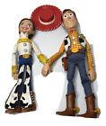 "Disney Toy Story Woody & Jessie Pull String Talking 15"" Dolls Works"