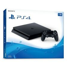 NEW/SEALED Sony PlayStation 4 1TB Console Jet Black PS4