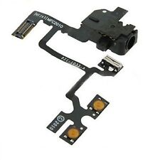 For iPhone 4 Headphone Jack Mute Switch Volume Buttons Audio jack Flex Cable