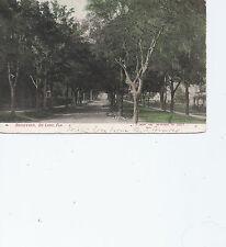 Boulevard  De Land    Florida  Postmarked 1907  Postcard 5013