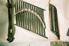 Cast  Iron  Balcony stair  Fence  rails  post 1800's  OLD  HOTEL