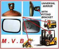 UNIVERSAL TRACTOR PLANT FORK LIFT TRUCK LORRY BUS DIGGER MIRROR NEW 19.5X14.5 CM