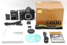 "【Mint in Box ""Count 7178】Nikon D600 24.3MP Digital SLR  Body From Japan #508"