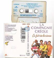 LA COMPAGNIE CREOLE cassette K7 tape CA FAIT RIRE LES OISEAUX