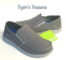 Crocs Mens Santa CRUZ Convertible Slip-On shoes Size 7 Light Gray/Slate Gray NEW