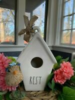 ⭐️⭐️NEW Rae Dunn Birdhouse REST Bird House Slant Roof LL By Magenta⭐️⭐️