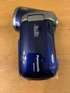 Panasonic HX-WA2 Waterproof Pistol Grip Camcorder Video Camera Blue Navy  1080P