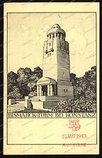AK-Konstanz-Bismarck-Turm-gelaufen-Emmishofen-Schweiz-1913-