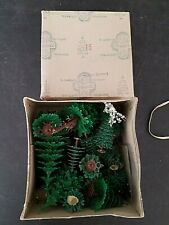 Structures layout model ho train WESTERN GERMANY  plants trees ORIGINAL BOX