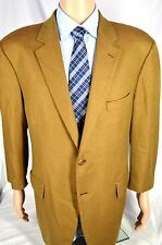 JOHN W NORDSTROM 100% LORO PIANA Cashmere Golden Brown Sport Coat - 44R