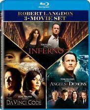 New Angels & Demons / The Da Vinci Code / Inferno (Blu-ray)