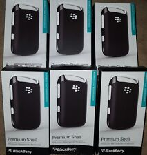 6 x Blackberry Curve 9320/9310/9220 Premium Shell - black/white