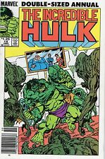 Incredible Hulk Double-Sized Annual #14 John Byrne Marvel Comics 1985 FN!!!