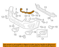 SUBARU OEM 12-15 Impreza Front Bumper-Corner Support Right 57707FJ001