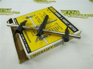 """NEW! GENERAL USA NO.11 WASHER & GASKET CUTTER 1/2"""" TO 6-1/2"""" RANGE"""