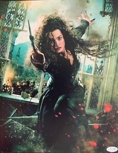Helena Bonham Carter large signed 11x14 photo ACOA RACC AFTAL UACC image P