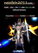 Diablo 3 RoS Ps4/Xbox One - Kreuzritter - 150 Portale 100% Unsterblich/Immortal