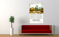 """1960 CATERPILLAR AD PRINT WALL POSTER PICTURE 33.1""""x23.4"""""""