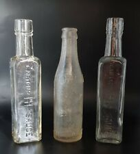 More details for 3 antique bottles, 2 gartons hp sauce and 1 corona