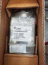 Itt Conoflow Gt18Ed Electro-Pneumatic Transducer
