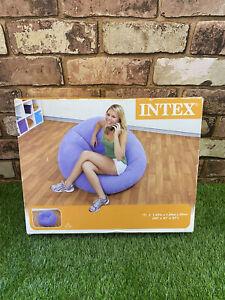 Intex Beanless Bean Bag Chair Air Furniture Purple